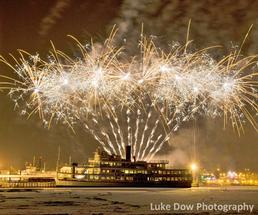 new year fireworks lake george