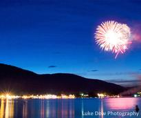 lake george fireworks photo gallery