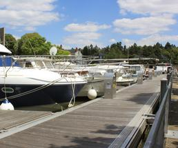 boats at a marina
