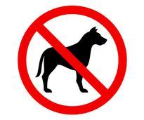 no dogs icon
