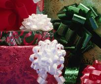 holiday presents wrapped up