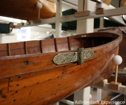 boating exhibit at adirondack experience