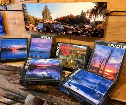 Adirondack-themed puzzles and pictures