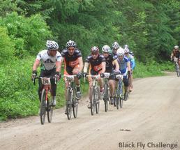 black fly challenge bike race participants