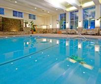 Indoor Pool at the Holiday Inn in Lake George