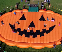 giant jumping pumpkin pad