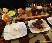food and beer at adirondack brewery