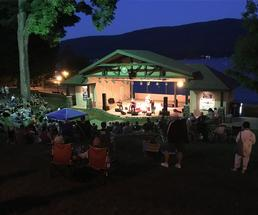 concert at shepard park in lake george