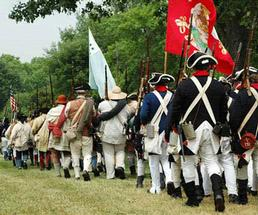 soldiers marching, historical