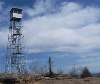 fire tower on hadley mountain