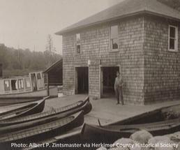 historic boathouse photo