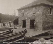 historic boathouse photo