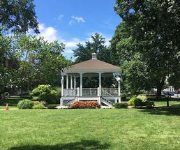 gazebo in glens falls' city park