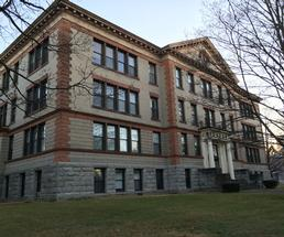 former glens falls high school building