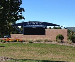 queensbury school district sign