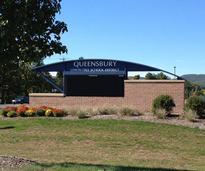 queensbury school district sign