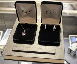 jewelry at Kay Jewelers
