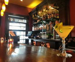 cocktail on a bar