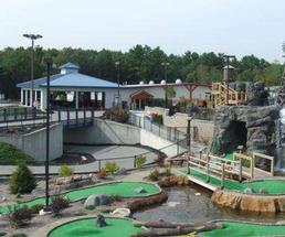 Mini-Golf course in Lake George