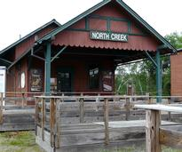 old north creek train station