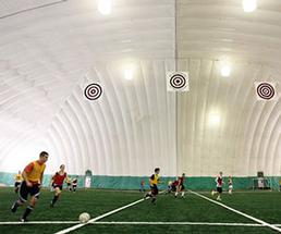 Indoor Soccer Game at The Dome at Adirondack Sports Complex