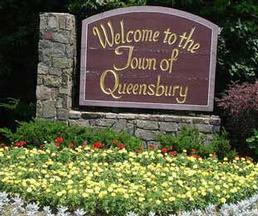 Town of Queensbury Welcome Sign