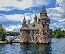 Boldt Castle located on Heart Island in the Thousand Islands