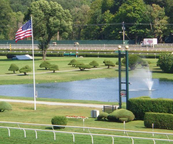 infield at saratoga race course