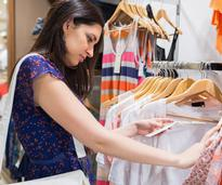 woman shops