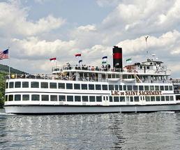 lac du saint sacrement ship on lake george