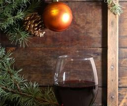 class of wine by part of a Christmas tree
