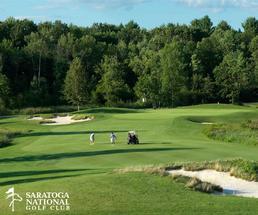 people golfing at saratoga national