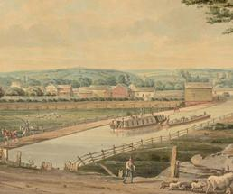 painting of the erie canal
