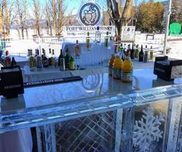 Fort William Henry ice bar