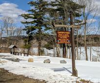 sign for Carters Pond