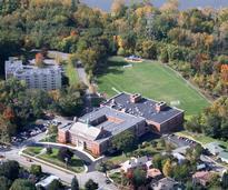 aerial view of doane stuart school in rensselaer