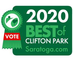 best of badge with vote for us ribbon