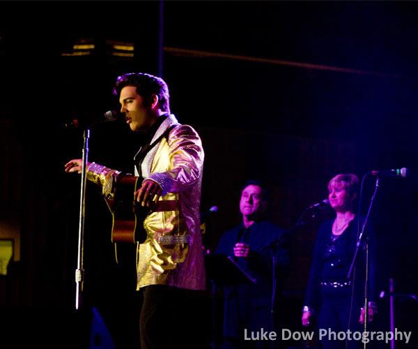 Elvis tribute artist performing in Lake George
