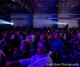 You could be here: audience at Elvis Fest