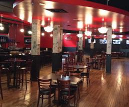 the inside of Pearl Street Pub