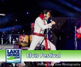 Watch a video of the LakeGeroge.com Elvis Festival