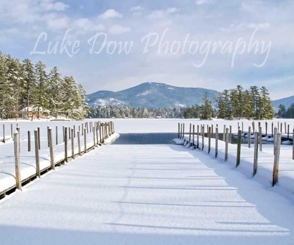 lake george winter