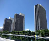 buildings at the Empire State Plaza