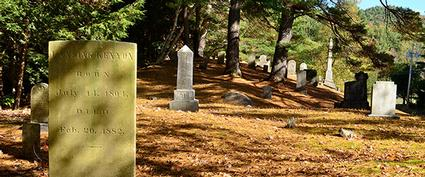 graveyard markers