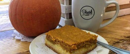 mug, pumpkin, and treat