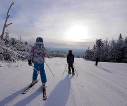 people skiing at gore