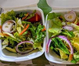 two side salads