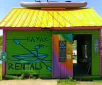 kayak rental shak