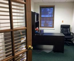inside an office