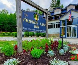 Friends Lake Inn sign